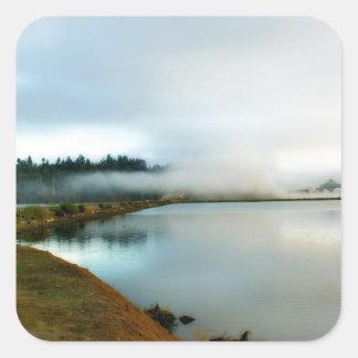 Oregon führt seine Schönheit vor Quadrat-Aufkleber