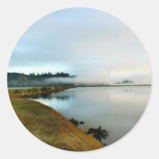 Oregon führt seine Schönheit vor Runder Aufkleber