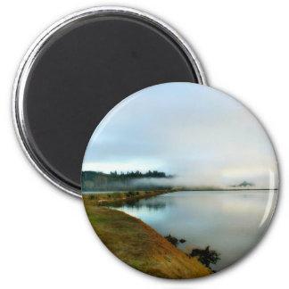 Oregon führt seine Schönheit vor Runder Magnet 5,7 Cm