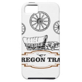 Oregon-Hinterplanwagen iPhone 5 Hüllen