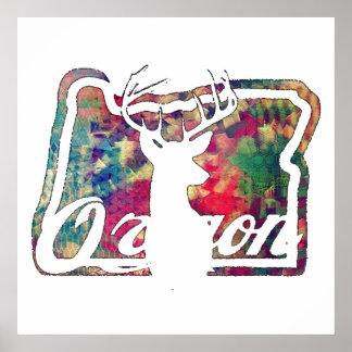Oregon-Jäger Poster