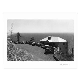 Oregon-Küsten-Seelöwe höhlt Hauptbüro aus Postkarte