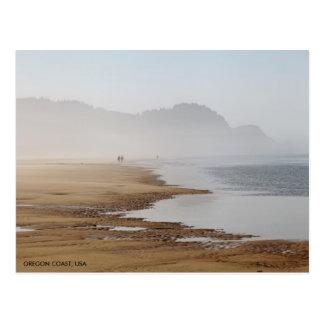 Oregon-Küsten-Strand Postkarte