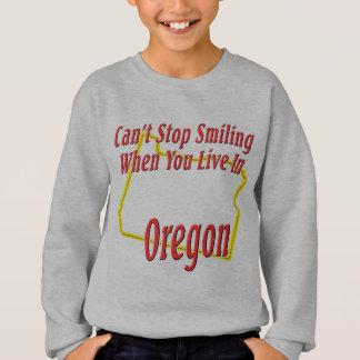 Oregon - lächelnd sweatshirt