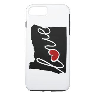 Oregon-Liebe! Geschenke für ODER Liebhaber iPhone 8 Plus/7 Plus Hülle