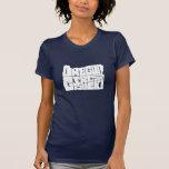 Oregon-Mädchenfelsen! (Marineblau) Shirt