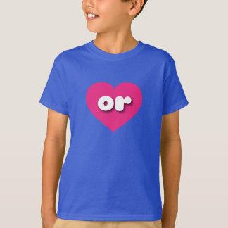 Oregon oder Pinkherz T-Shirt