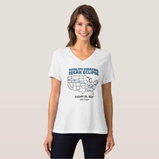 Oregon - Solareklipse-Gesamtheits-T - Shirt 2017