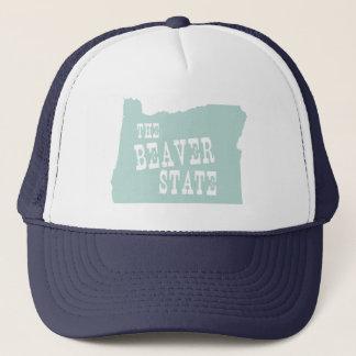 Oregon-Staats-Motto-Slogan Truckerkappe