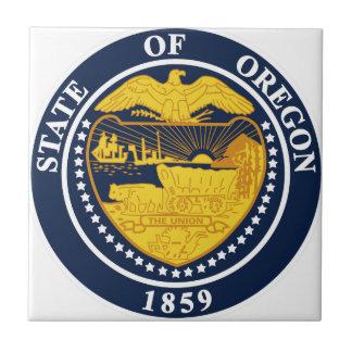 Oregon-Staats-Siegel Fliese