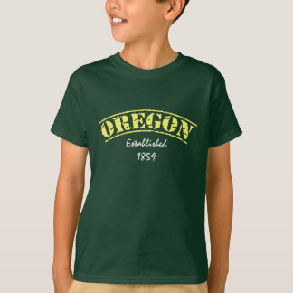 Oregon stellte her T-Shirt
