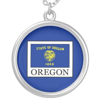 Oregon Versilberte Kette