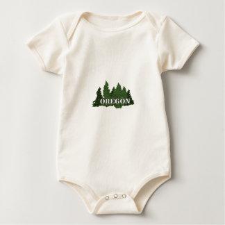 Oregon-Wald Baby Strampler