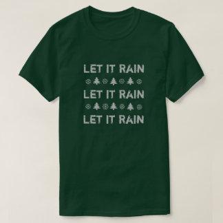 Oregon-Weihnachten ließ es Shirt regnen