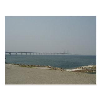 Oresund Brücke Postkarte