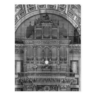 Organ Postkarten