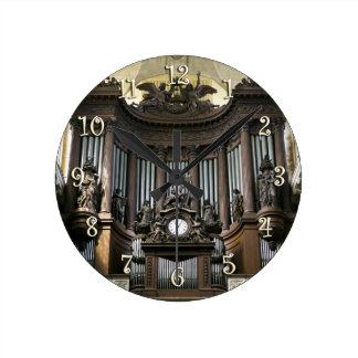 Organ St. Sulpice Cavaillé-Coll Runde Wanduhr