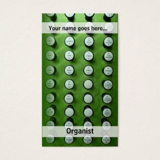 OrganendVisitenkarte Visitenkarte