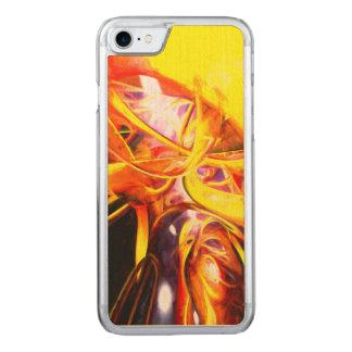 Organisierte Verwirrung abstrakt gemalt Carved iPhone 8/7 Hülle
