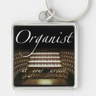 Organist an Ihrer Service-Schlüsselkette Schlüsselanhänger