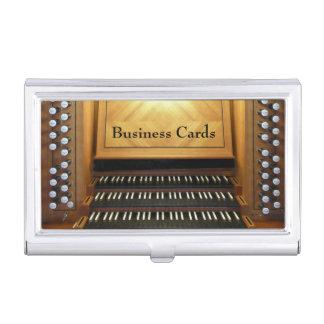 Organkonsole Visitenkarten Dose