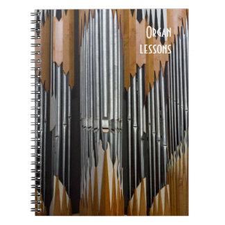Organnotizbuch Spiral Notizblock