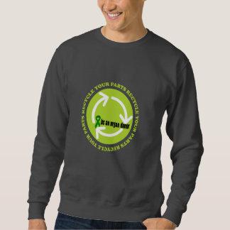Organspende-Bewusstsein Sweatshirt