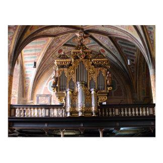 Orgel Pfarrkirche St.Wolfgang morgens Wolfgangsee Postkarten
