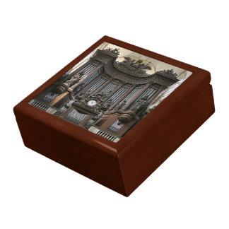 Orgelpfeife-Geschenkboxen - St. Sulpice Große Quadratische Schatulle