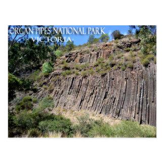 Orgelpfeifen Park, Postkarte Victorias, Australien