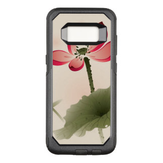 Orientalische Art Lotus OtterBox Commuter Samsung Galaxy S8 Hülle