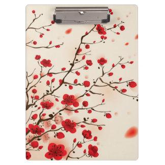 Orientalische Artmalerei, Pflaumenblüte im
