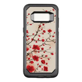 Orientalische Artmalerei, Pflaumenblüte im OtterBox Commuter Samsung Galaxy S8 Hülle