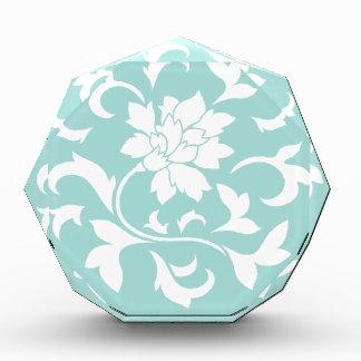 Orientalische Blume - Acryl Auszeichnung
