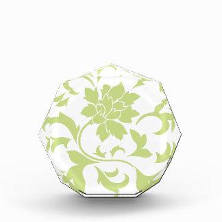 Orientalische Blume - Daiquiri-Grün Acryl Auszeichnung