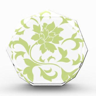 Orientalische Blume - Daiquiri-Grün Auszeichnung
