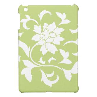Orientalische Blume - Daiquiri-grünes Kreismuster iPad Mini Hülle