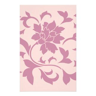 Orientalische Blume - Erdbeer-u. Rosen-Quarz Briefpapier
