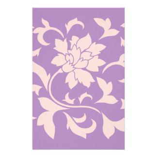 Orientalische Blume - Erdbeerflieder Briefpapier