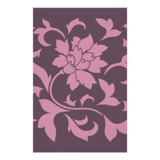 Orientalische Blume - Erdbeerkirschschokolade Briefpapier