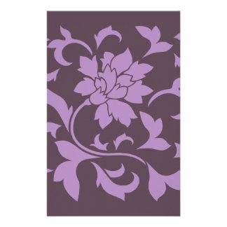 Orientalische Blume - Flieder-u. Kirschschokolade Briefpapier