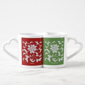 Orientalische Blume - frohe Weihnachten - Liebestassen