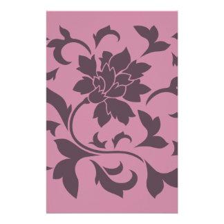 Orientalische Blume - Kirschschokolade u. Briefpapier