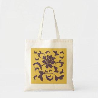 Orientalische Blume - Kirschschokolade u. -senf Tragetasche
