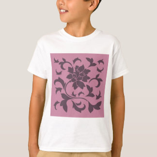 Orientalische Blume - Kirschschokolade u. T-Shirt