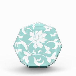 Orientalische Blume - Limpet-Muschel Acryl Auszeichnung
