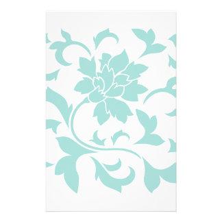 Orientalische Blume - Limpet-Muschel Briefpapier