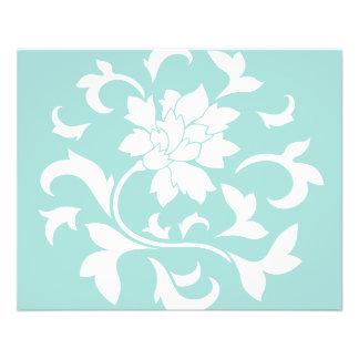 Orientalische Blume - Limpet-Muschel Flyer