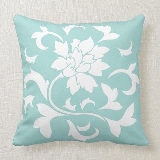 Orientalische Blume - Limpet-Muschel Kissen