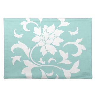 Orientalische Blume - Limpet-Muschel Tischset